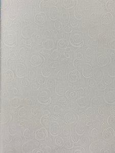 Ramblings Fabric- White Swirls