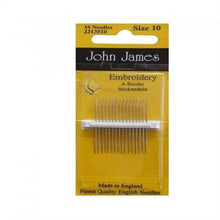 Load image into Gallery viewer, John James hand sewing needles
