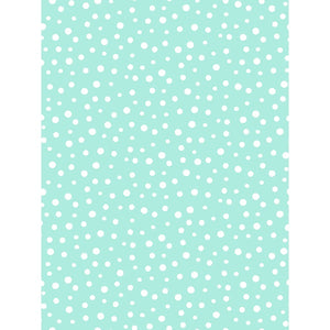 Susybee Irregular Dot Fabric - Aqua