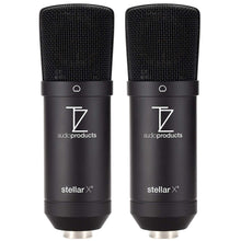 Load image into Gallery viewer, Matched Pair Stellar X2 Large Capsule Condenser Microphones
