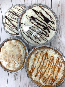 "IN STORE ONLY - Keto Chocolate Silk Pie - By the Slice, 6"", 8"" or 9"" - Seasonal Item"