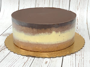 "IN STORE ONLY - Keto Boston Creme Pie - 8"" Cake - Gluten Free, Sugar Free, Low Carb, Keto & Diabetic Friendly"
