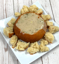 Load image into Gallery viewer, Keto Bread Bowl with Soup - IN STORE ONLY, Gluten Free, Sugar Free, Low Carb, Keto & Diabetic Friendly