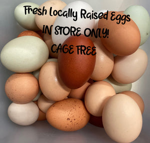 In Store ONLY - Cage Free Eggs - Dozen Fresh Eggs