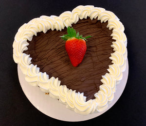 "IN STORE ONLY - Keto 8"" Heart Cheese Cake - Decorated Heart Shaped Cheese Cake - Gluten Free, Sugar Free, Low Carb, Keto & Diabetic Friendly"