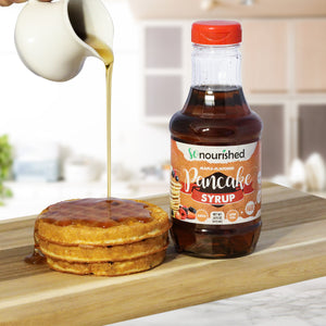 SoNourished Maple Syrup - Keto Maple Syrup - Gluten Free, Sugar Free, Low Carb, Keto & Diabetic Friendly