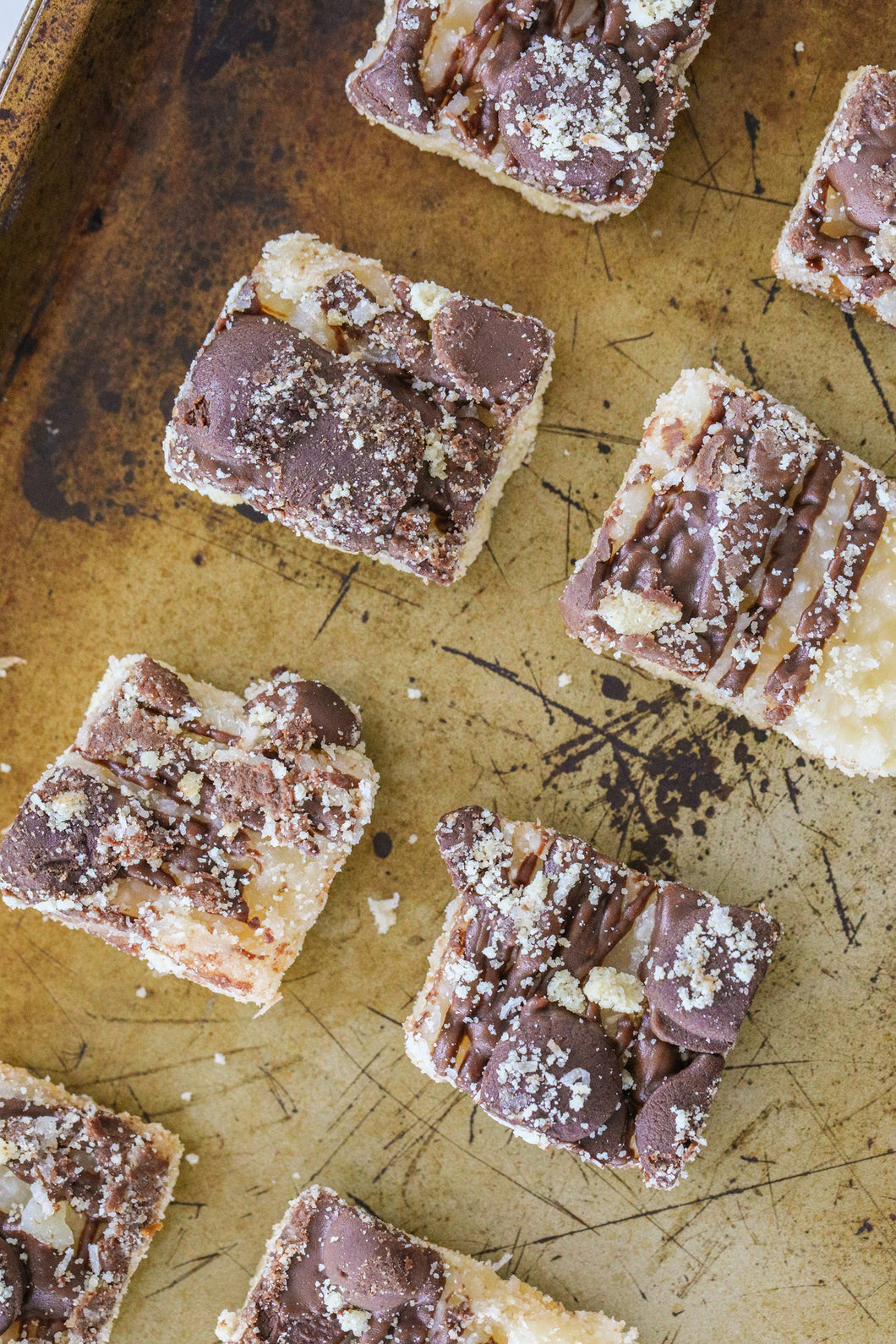 Keto Samoa Cookie Bites - Keto Shortbread, Coconut, Caramel & Chocolate Cookie