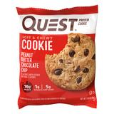 Quest Nutrition - Protein Cookie, Peanut Butter Chocolate Chip - Gluten Free, High Protein, Low Carb, Keto Friendly