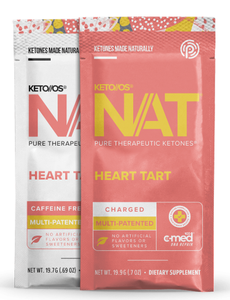 KETO // OS NAT - Heart Tart, Charged - Pure Therapeutic Ketones