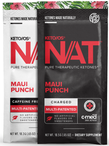 KETO // OS NAT - Maui Punch, Charged - Pure Therapeutic Ketones