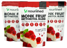 Load image into Gallery viewer, Monk Fruit & Erythritol Blend Sweetener - SoNourished Granular Monk Fruit + Erythritol Sweetener