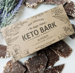 Choc Zero Milk Chocolate Hazelnut Keto Bark - Sugar Free, Gluten Free, Keto & Diabetic Friendly