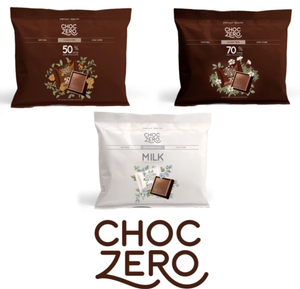 Choc Zero Milk Chocolate Squares - Sugar Free, Gluten Free, Low Carb, Keto & Diabetic Friendly
