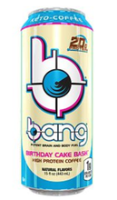 Load image into Gallery viewer, Bang Energy Drink - Keto Coffee- Birthday Cake Bash - High Protein, Keto Friendly