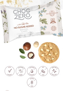 Choc Zero White Chocolate Baking Chips - 7 oz Bag