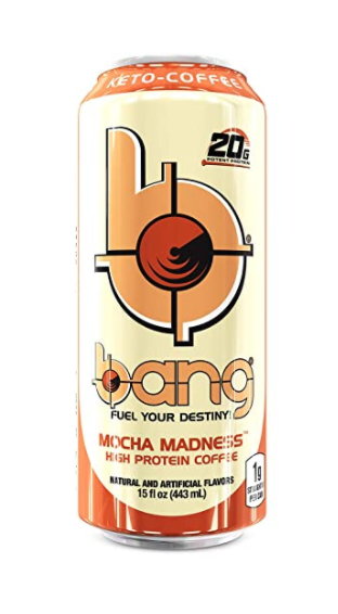 Bang Energy Drink - Keto Coffee- Mocha Madness