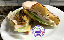 Load image into Gallery viewer, Keto Bagels - Sesame Seed Bagel - Gluten Free, Sugar Free, Low Carb, Keto & Diabetic Friendly
