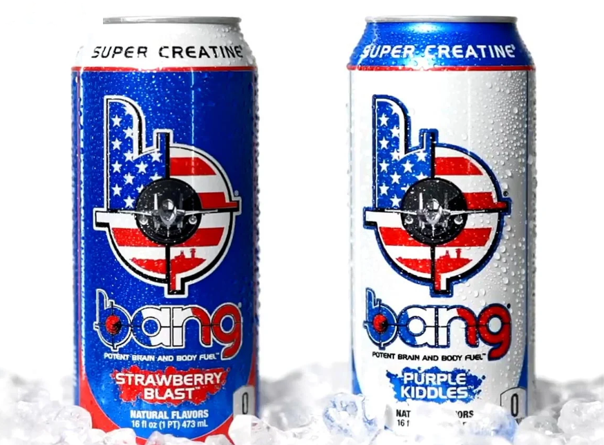 Bang Energy Drinks - Keto Energy Drinks - Military Exclusive - Strawberry Blast or Purple Kiddles