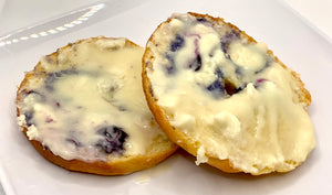 Sweet Blueberry Keto Bagels - Blueberry Bagels - Gluten Free, Sugar Free, Low Carb, Keto & Diabetic Friendly