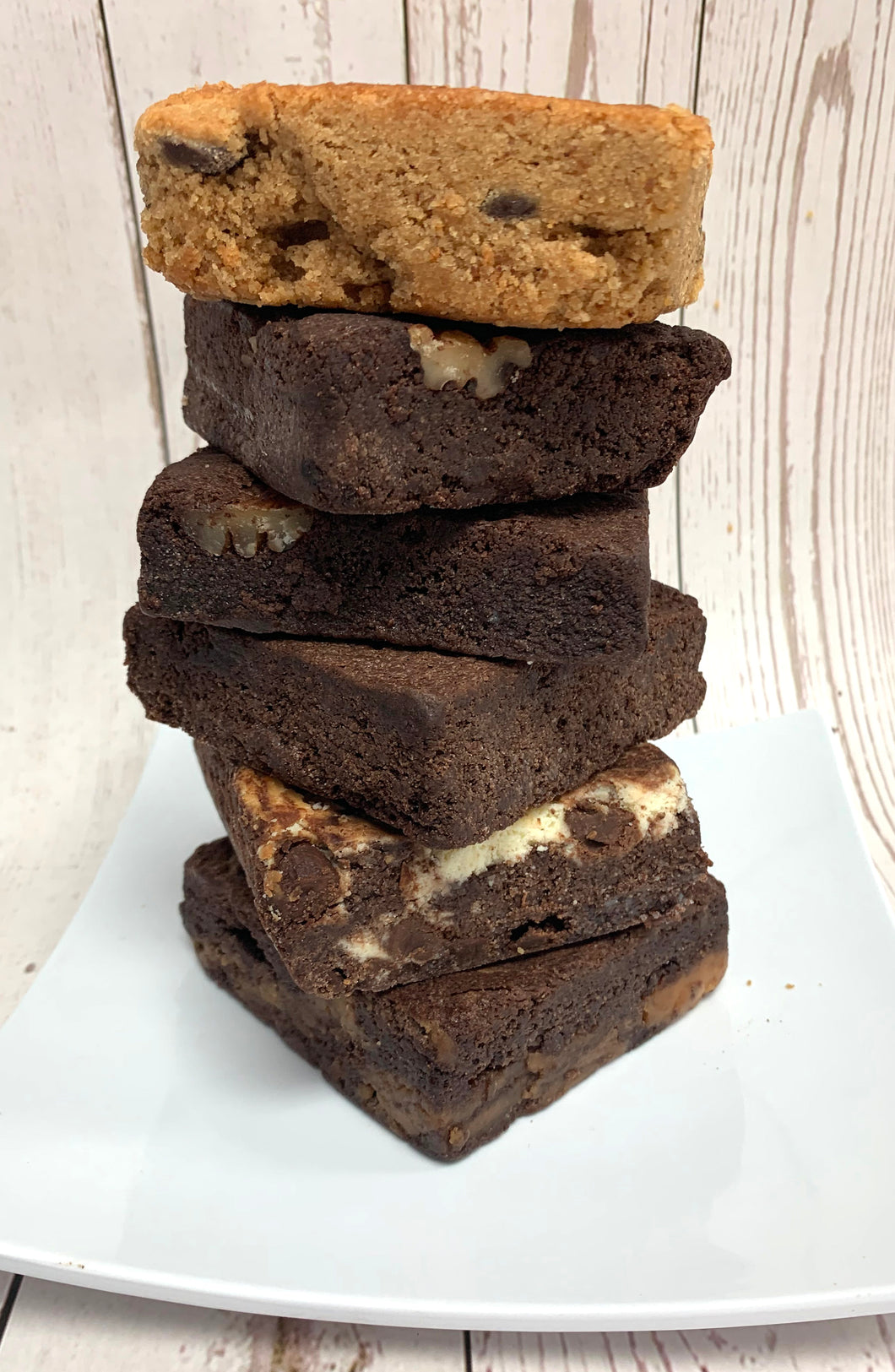 Keto Fudgy Brownies - Walnut Brownies - Gluten Free, Sugar Free, Low Carb, Keto & Diabetic Friendly