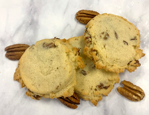 Keto Butter Pecan Cookies - Gluten Free, Sugar Free, Low Carb, Keto & Diabetic Friendly