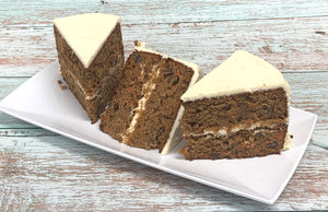 IN STORE ONLY - Keto Carrot Cake by the Slice - Gluten Free, Sugar Free, Low Carb, Keto & Diabetic Friendly