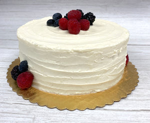 IN STORE ONLY - Keto Decadent Chantilly Berry Cake - Gluten Free, Sugar Free, Low Carb, Keto & Diabetic Friendly