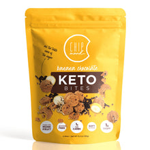 Load image into Gallery viewer, ChipMonk Keto Cookie Bites, Banana Chocolate Chip Cookie Bite - Gluten Free, Low Carb, Keto & Diabetic Friendly