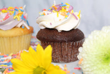 Load image into Gallery viewer, Keto Cupcakes - Chocolate Decorated Cupcake - IN STORE ONLY
