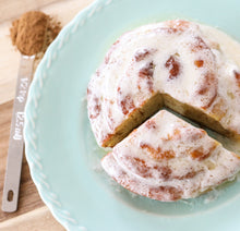 Load image into Gallery viewer, Keto Cinnamon Rolls - Giant Double Rolled Keto Cinnamon Roll - Gluten Free, Sugar Free, Low Carb, Keto & Diabetic Friendly