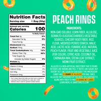 Load image into Gallery viewer, Smart Sweets - Peach Rings - Gluten Free, Plant Based, Sugar Free & Weight Watchers Friendly