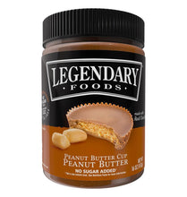 Load image into Gallery viewer, Legendary Foods - Peanut Butter Cup, Nut Butter - 12 oz Jar *Gluten Free *Sugar Free *Low Carb *Keto & Diabetic Friendly