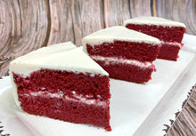 Load image into Gallery viewer, IN STORE ONLY - Keto Red Velvet Cake - By the Slice - Gluten Free, Sugar Free, Low Carb, Keto & Diabetic Friendly