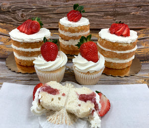 "IN STORE ONLY - Keto 6"" Strawberry ShortCake  - Gluten Free, Sugar Free, Low Carb, Keto & Diabetic Friendly"