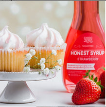 Load image into Gallery viewer, Choc Zero Sugar Free Strawberry Syrup - Keto Strawberry Syrup