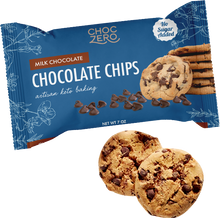 Load image into Gallery viewer, Choc Zero Milk Chocolate Baking Chips - 7 oz Bag - Sugar Free Milk Chocolate Chips