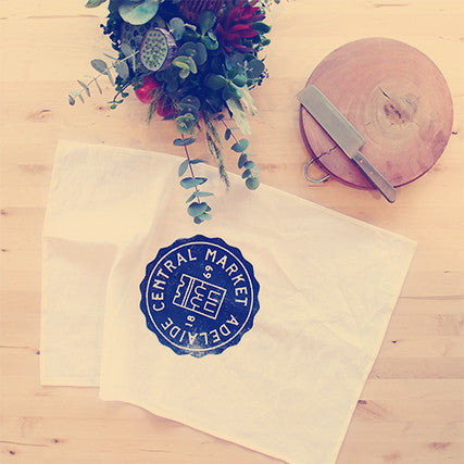 Market Tea Towel