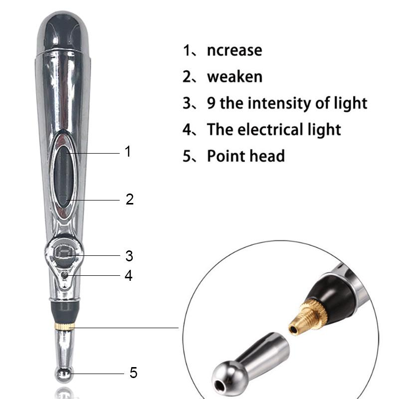 Care Electric Meridians Laser Acupuncture Magnet Therapy Instrument