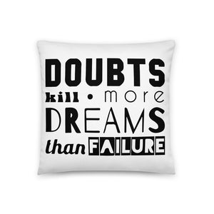 Doubts Premium Basic Pillow