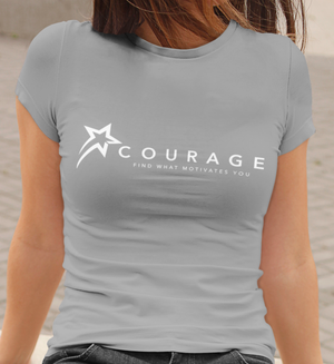 """N COURAGE"" Short-Sleeve T-Shirt Women"