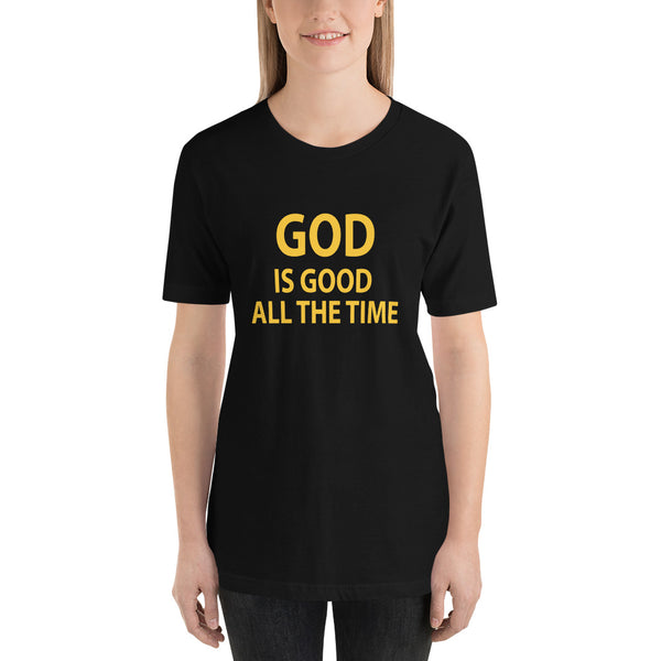 God is Good All The Time Short-Sleeve Women T-Shirt