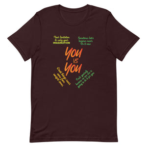 You vs You Short-Sleeve T-Shirt