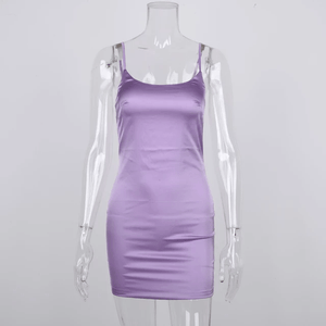 Satin Bandage Dress |  At First Sight | RQF Boutique - RQFBOUTIQUE.com