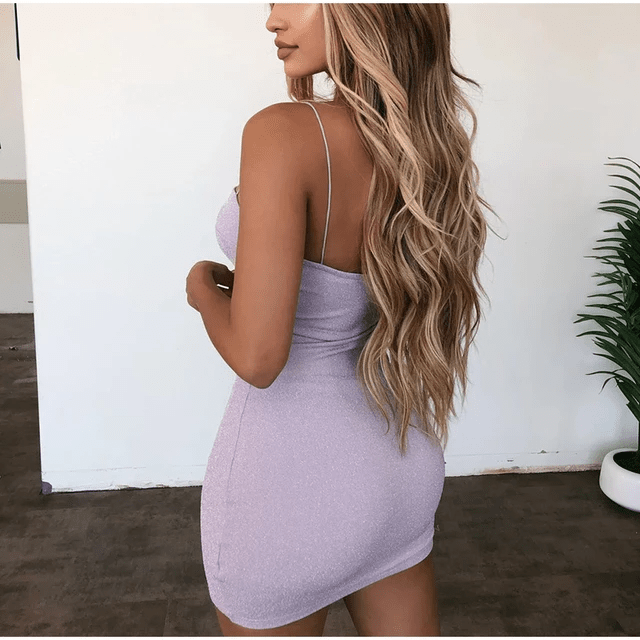Shimmering Mini Bandage Dress  |  Breaking Hearts| RQF Boutique - RQFBOUTIQUE.com