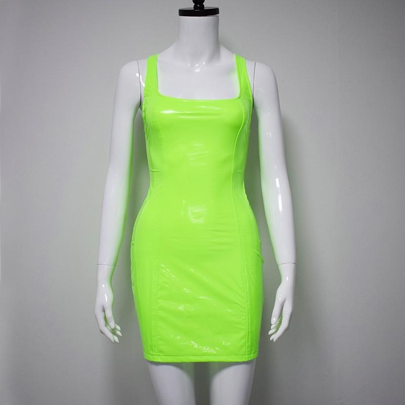 Pleather Bandage Dresses |  Candy Apple|  RQFBoutique.com - RQFBOUTIQUE.com