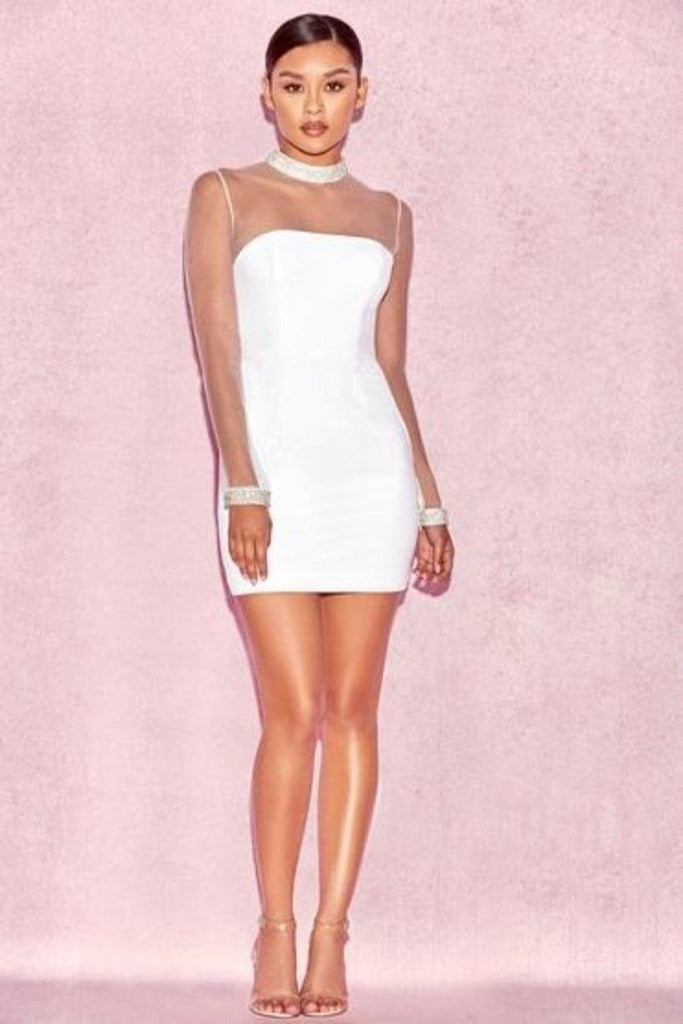 Choker Bandage Dress | Unforgettable | - RQFBOUTIQUE.com