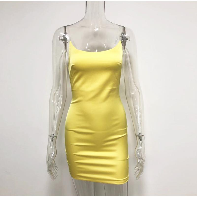 Satin Mini Bandage Dress |Too Hot to Touch| RQF Boutique - RQFBOUTIQUE.com