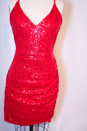 Bandage Cocktail Dress | Life of The Party | RQF Boutique - RQFBOUTIQUE.com