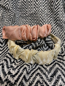 Satin Ruche Headband
