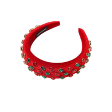 Load image into Gallery viewer, Red Bling Headband